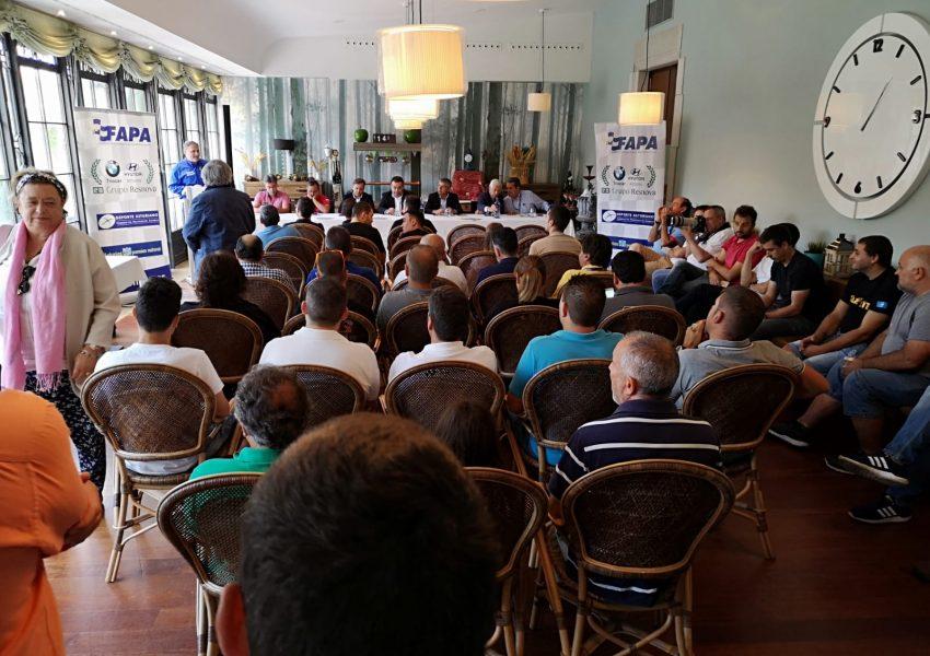 Comunicado Oficial Presentación Volan FAPA 2019